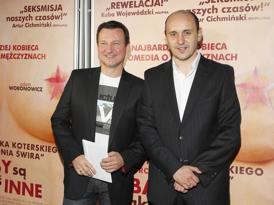 Robert Więckiewicz i Adam Woronowicz