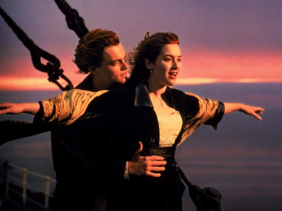 Kate Winslet i Leonardo DiCaprio w \