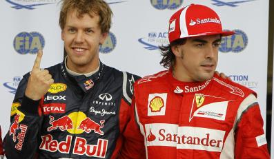 Sebastian Vettel i Fernando Alonso