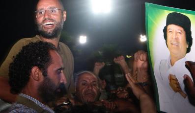 Syn Kadafiego chce się oddać w ręce trybunału w Hadze
