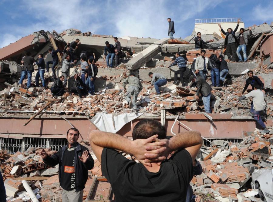 Silne trzęsienie ziemi w Turcji