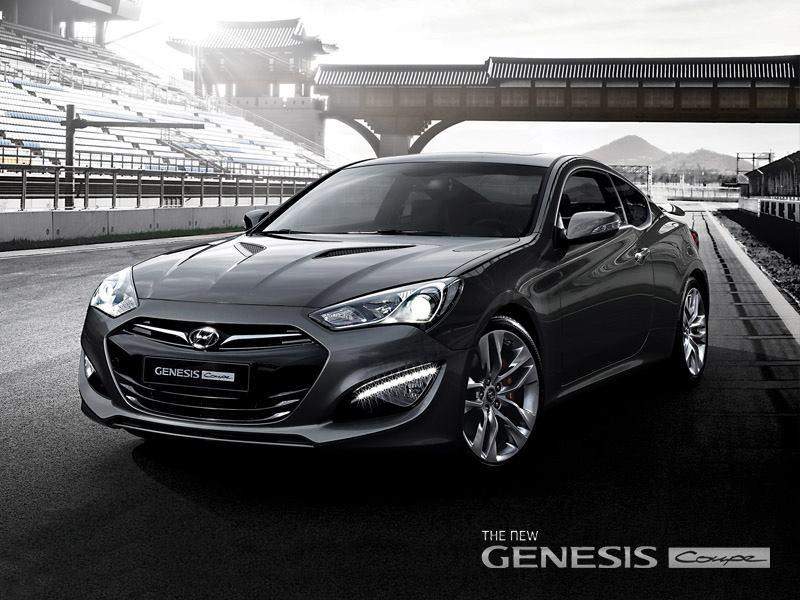 Hyundai genesis coupe po modernizacji