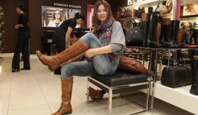 Grażyna Wolszczak w sklepie PrimaModa.