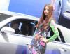 Salon samochodowy w Tokio - dziewczyny
