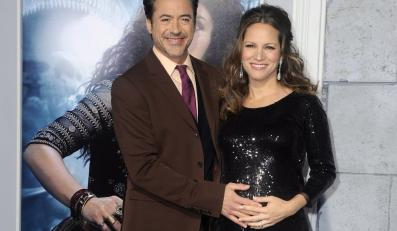 Robert Downey Jr. i jego żona Susan Downey