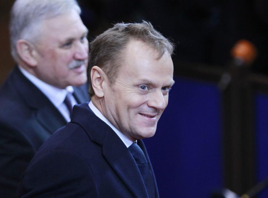 Premier Donald Tusk na szczycie Unii w Brukseli