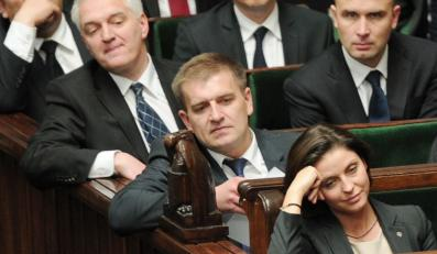 Bartosz Arłukowicz w ławach rządowych w Sejmie