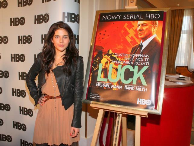 "Promocja serialu ""Luck"" z udziałem Weroniki Rosati"