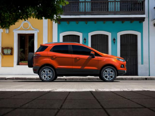Ford pochwalił się w Indiach modelem EcoSport