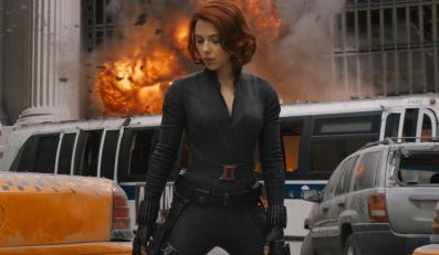 Scarlett Johansson jako Czarna Wdowa