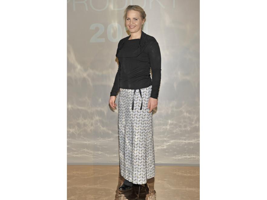 Magdalena Stużyńska w tej stylizacji wygląda nieelegancko.