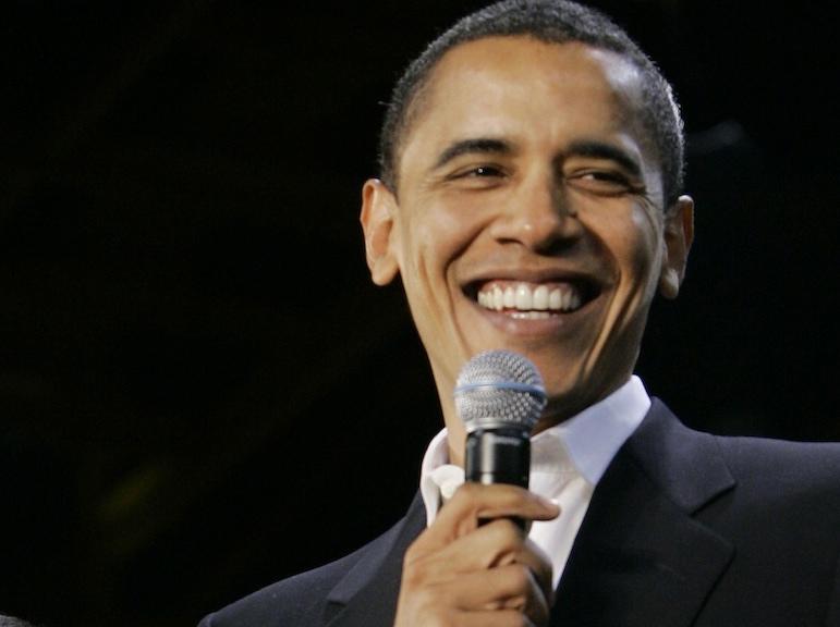 Barack Obama zaśpiewał \