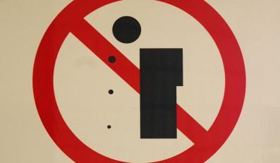Zakaz plucia na ulicach Porto