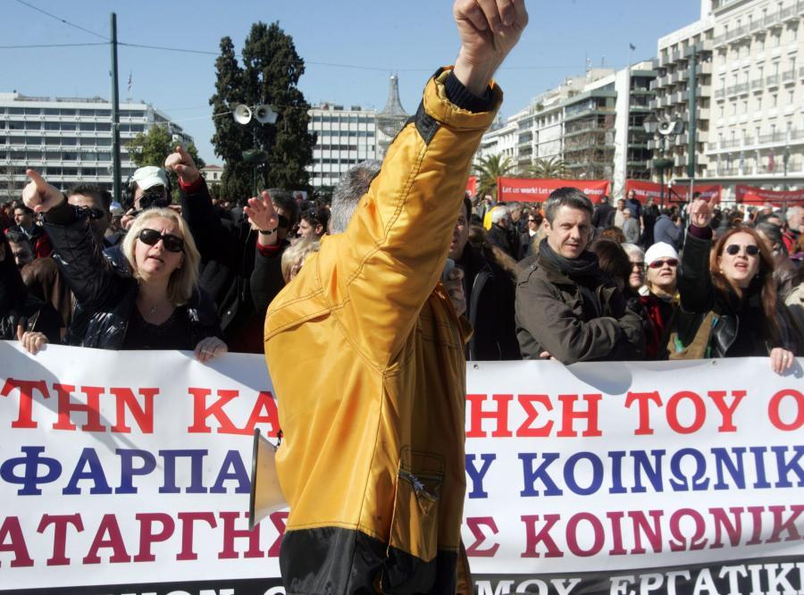Grecy wciąż się buntują