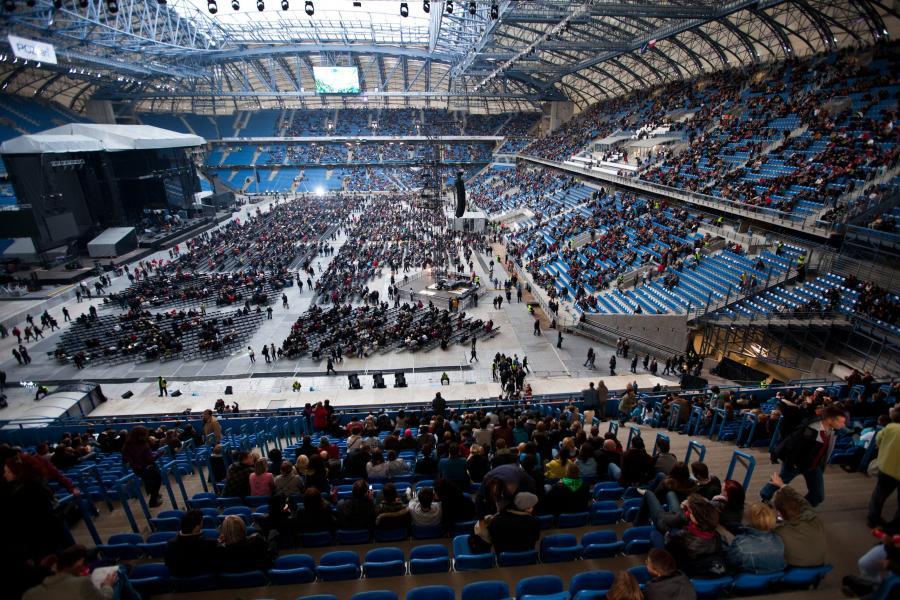 Otwarcie Stadionu Miejskiego w Poznaniu w 2010 roku