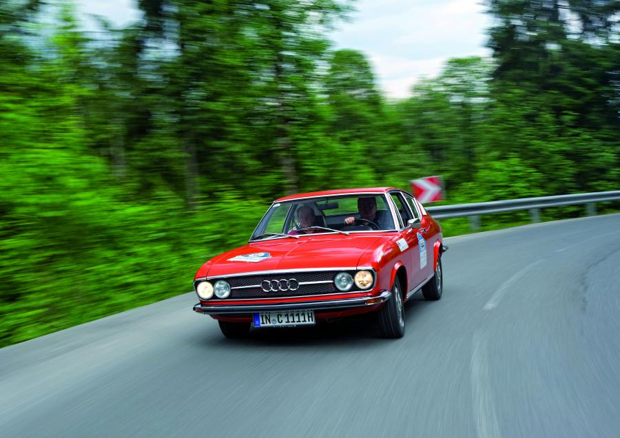 Dotyk historii z Audi Tradition