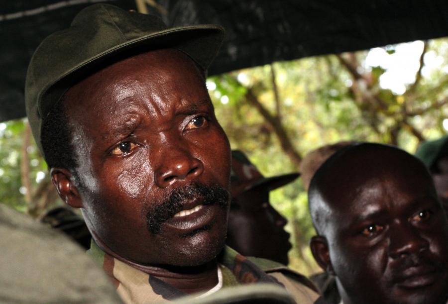 Joseph Kony - zbrodniarz wojenny z Ugandy, przywódca Armii Bożego Oporu