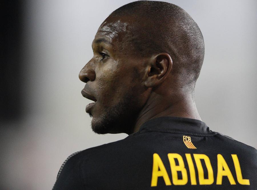 Eric Abidal, piłkarz Barcelony i reprezentacji Francji