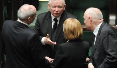 Prezes PiS  Jarosław Kaczyński w Sejmie