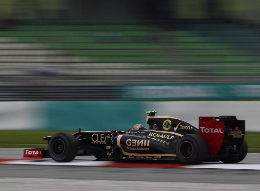 Bolid teamu Lotus