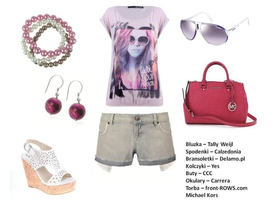 Moda wiosna 2012: pastelowe stylizacje