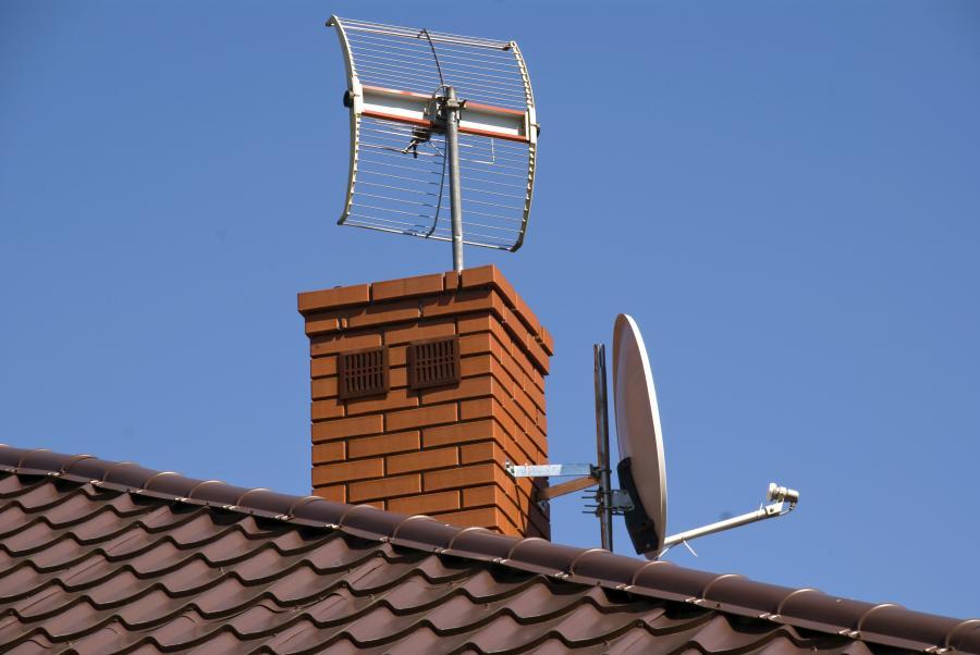 Anteny na dachu