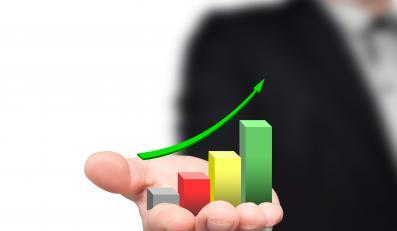 Wykres wzrostu - zdjęcie ilustracyjne