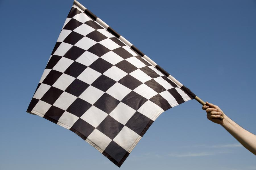 Flaga szachownica
