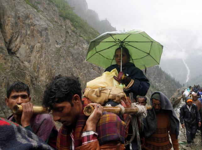 Pielgrzymka do jaskini Amarnath