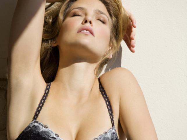Bar Rafaeli po raz koleny pojawiła się w sesji zdjęciowej dla izraelskiej firmy bieliźniarskiej Bonita De Mas
