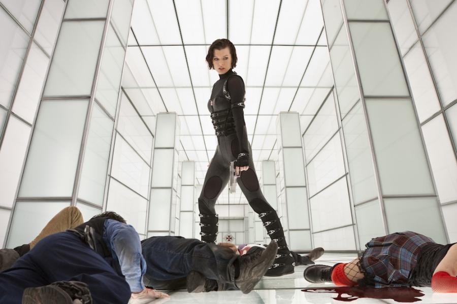 Milla Jovovich w filmie \