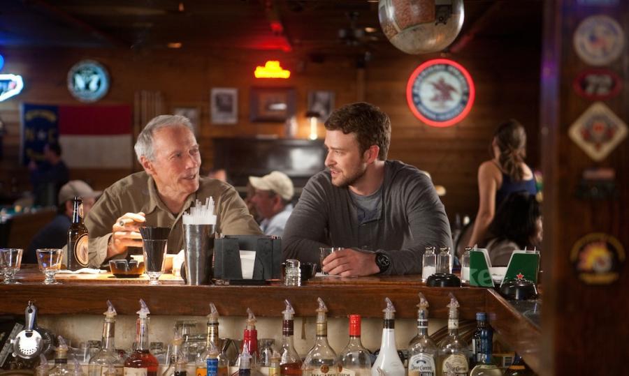Clint Eastwood i Justin Timberlake w \