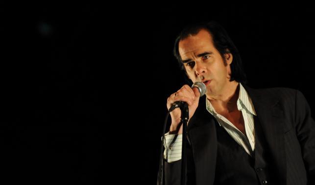 Nicholas Edward Cave podczas koncertu na Southside Festival 2009