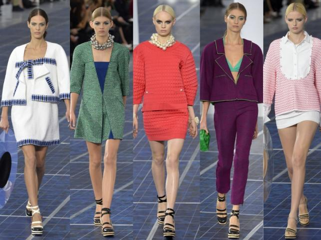 Chanel - kolekcja wiosna/lato 2013