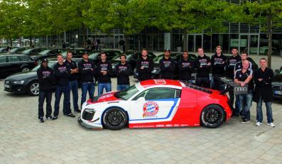 Koszykarze FC Bayern w Audi