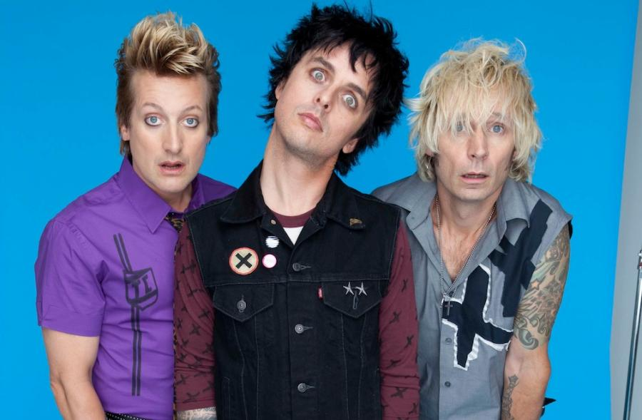 Green Day pierwszy z trzech, a nawet z czterech