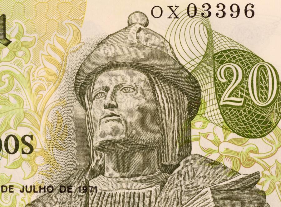 Portugalskie 20 escudo