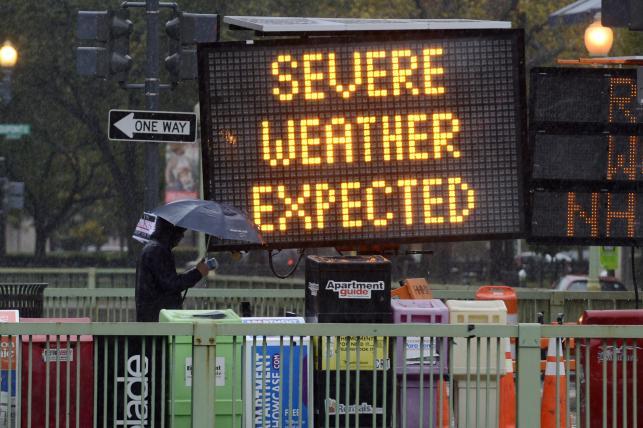 Huragan Sandy nad Nowym Jorkiem