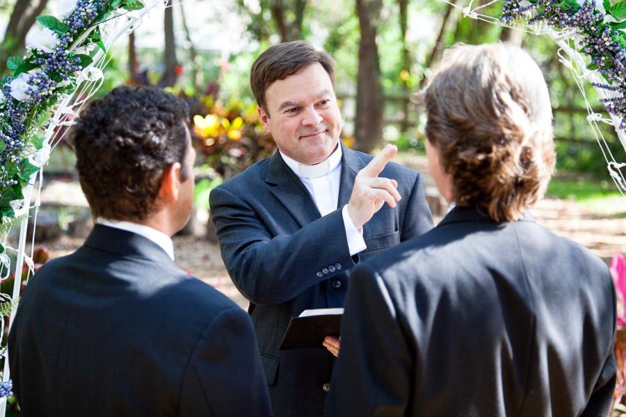 Małżeństwo homoseksualne - zdjęcie ilustracyjne