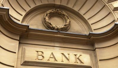 Wejście do banku