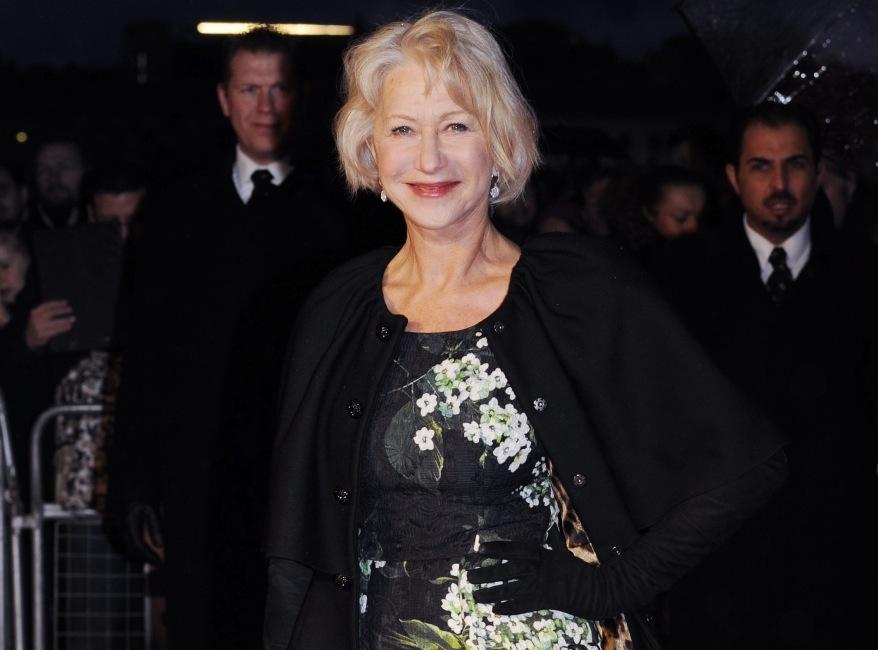 Helen Mirren na premierze \
