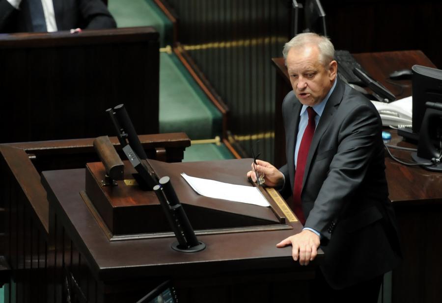 Bolesław Piecha w Sejmie