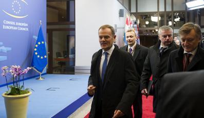 Premier Tusk na szczycie UE
