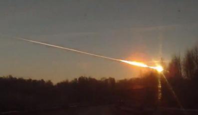 Meteoryt nad Czelabińskiem