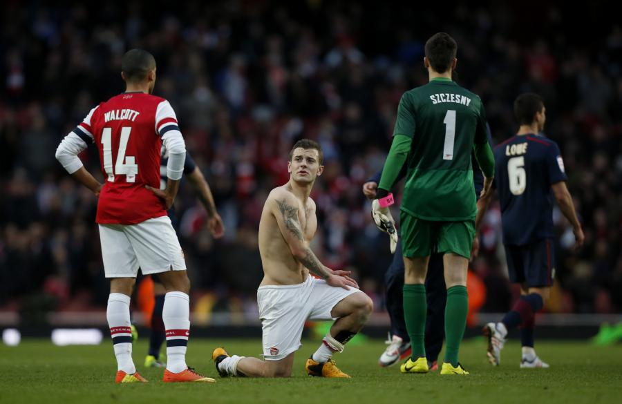 Arsenal Londyn przegrał z Blackburn Rovers