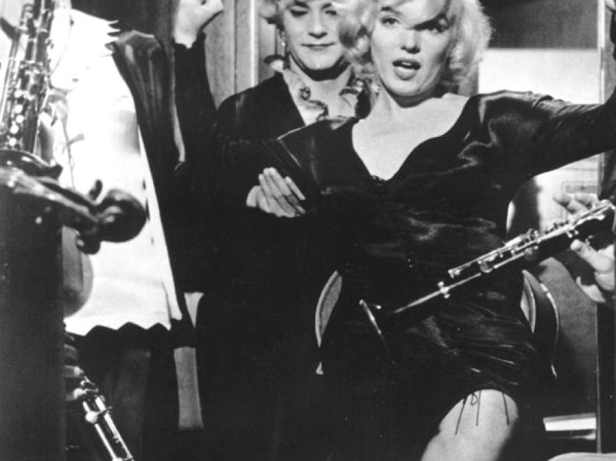 Marilyn Monroe, Tony Curtis, Jack Lemmon - \