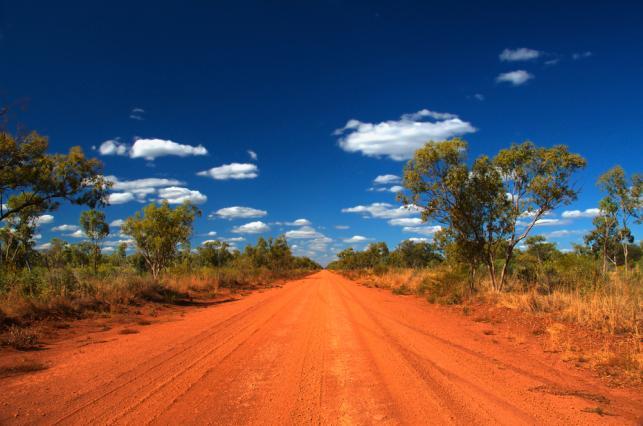 Bezdroża na północy Australii