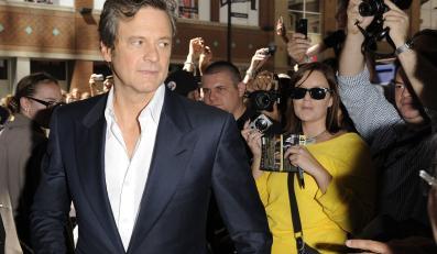 "Colin Firth na premierze filmu ""Arthur Newman"" podczas festiwalu w Toronto"