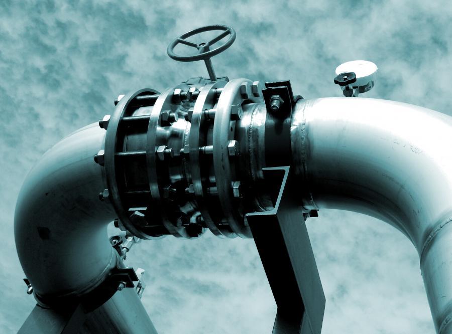 gaz gazociąg rura zawór