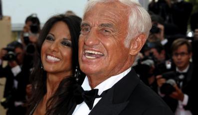 Jean-Paul Belmondo z przyjaciółką Barbarą Gandolfi w Cannes –17 maja 2011